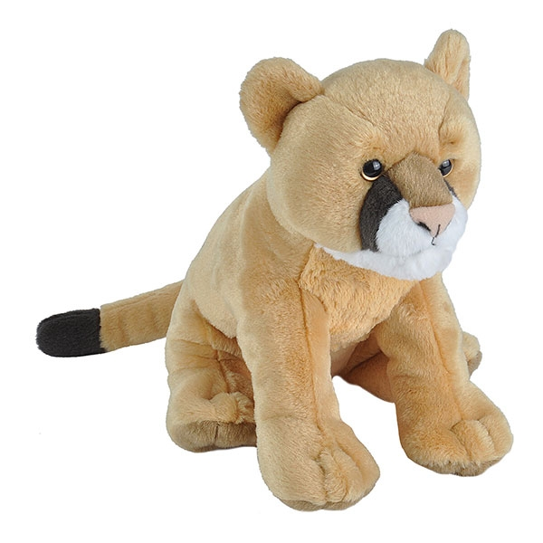 MOUNTAIN LION PLUSH 12""