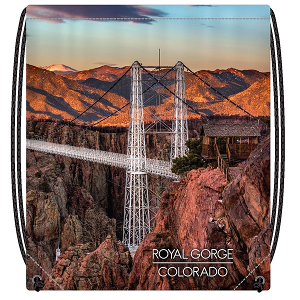 ROYAL GORGE BRIDGE DRAWSTRING BACKPACK