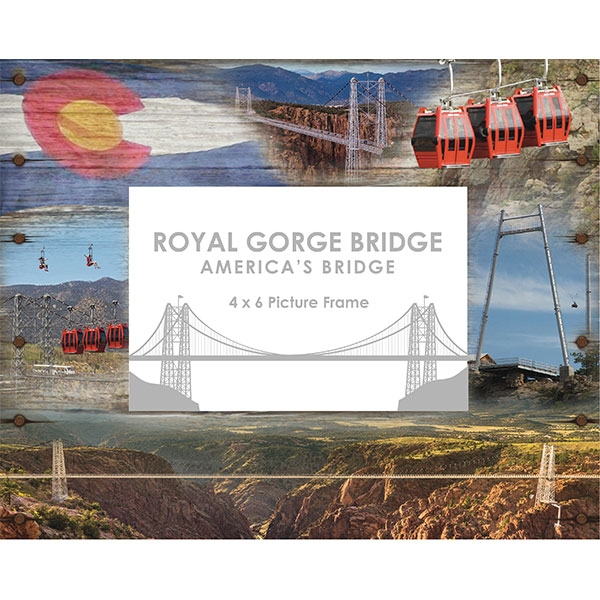 ROYAL GORGE BRIDGE RIPPLE FRAME 4X6