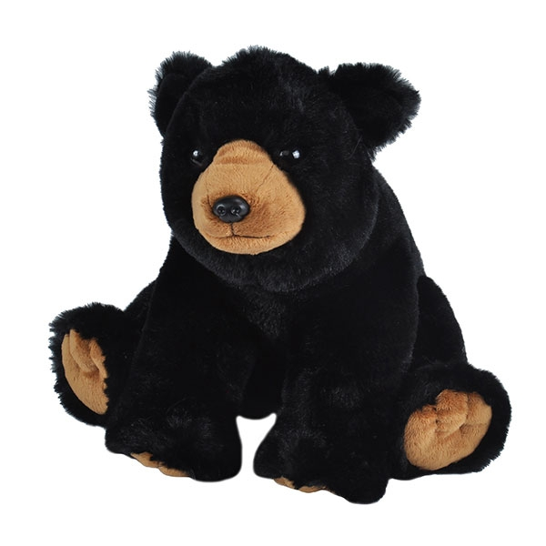 BLACK BEAR PLUSH 12""