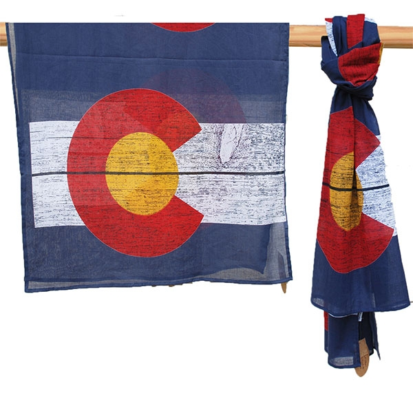 COLORADO FLAG SCARF