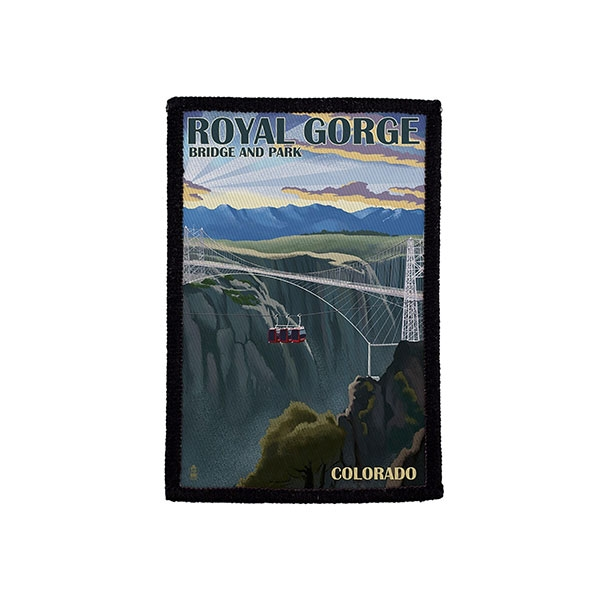 ROYAL GORGE ART PRINT PATCH