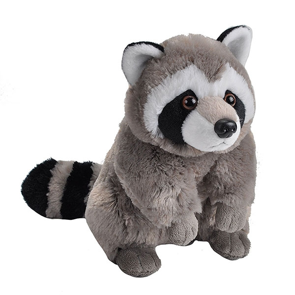 RACCOON PLUSH 12""