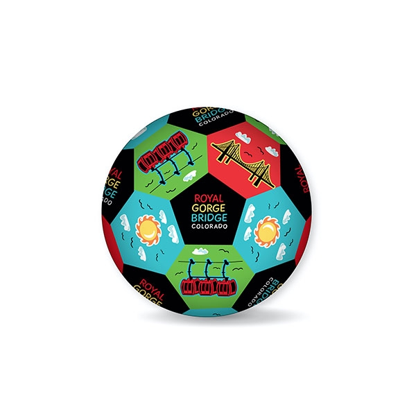 ROYAL GORGE BRIDGE KIDS MINI SOCCER BALL