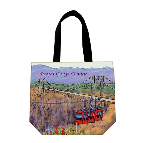 ROYAL GORGE BRIDGE CANVAS SHOPPER