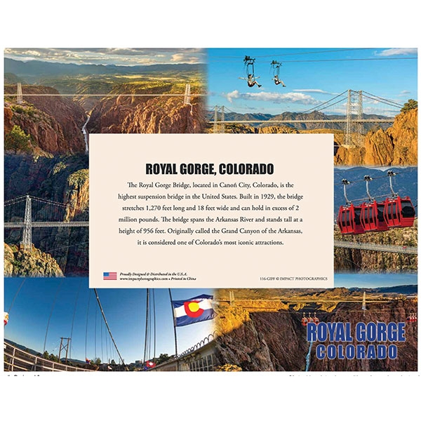 ROYAL GORGE BRIDGE FRAME 4X6