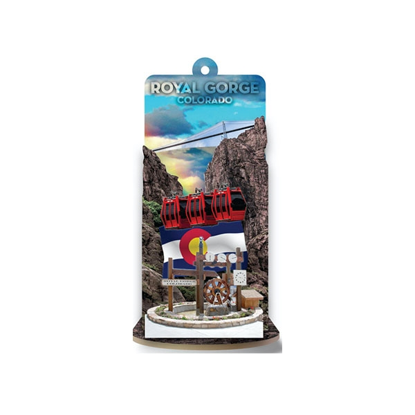 ROYAL GORGE BRIDGE DIORAMA ORNAMENT