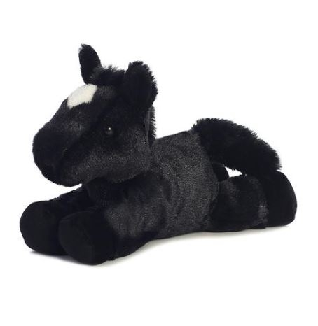 HORSE MINI FLOPSIE-BLACK